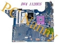 Para HP DV4 1120US 1125NR s478 Intel Gm45 Madre Del Ordenador Portátil DDR2 486724-001 Integrado Buena