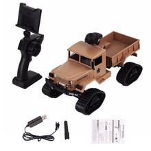 2.4G Remote Control WiFi Auto RC Car 1:16 Military Truck Off-Road Climbing Auto Toy 4 Wheel Drive Educational Toys for Kids(China)