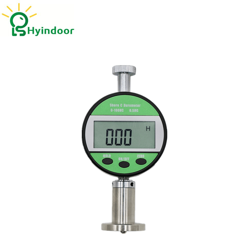 Green High accuracy digital shore hardness tester portable gauge measuring for hardness ,Type C Green High accuracy digital shore hardness tester portable gauge measuring for hardness ,Type C