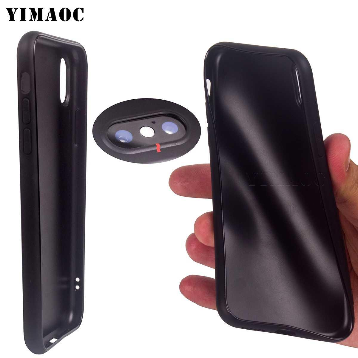 YIMAOC フレンチブルドッグ犬ソフトシリコンケース iphone 11 プロ XS 最大 XR × 8 7 6 6S プラス 5 5s 、 se
