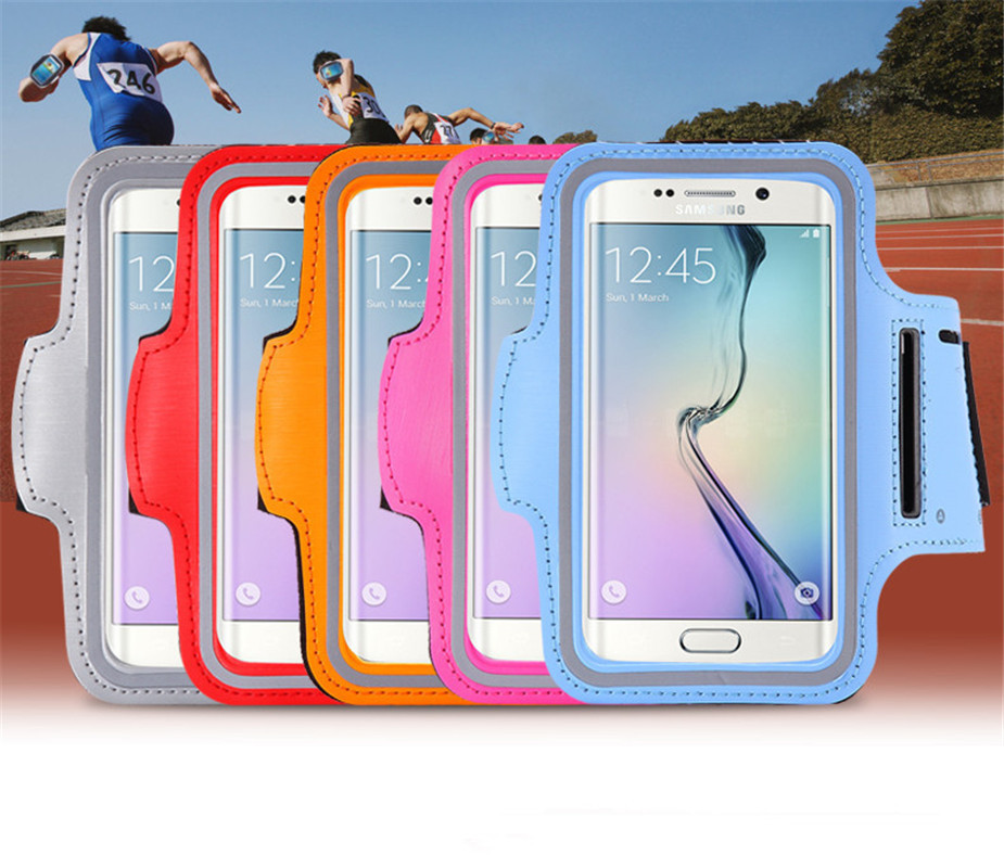 New Sports Mobile Phone Holder Cases Armband Bag Fitness Rush Run Band For Samsung Galaxy S5 # C1224