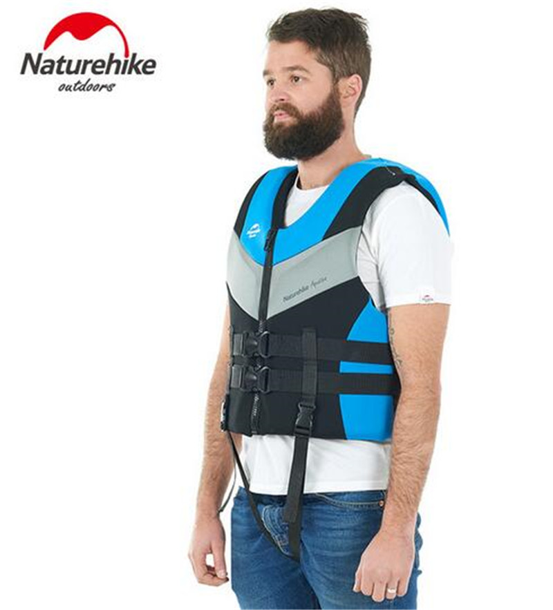 Naturehike Safety Buoyancy Vest Adult Snorkeling Swimming Equipment Men Women Portable V ...