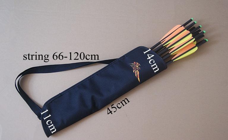 Free shipping 12 pcs 20' carbon arrow crossbow bolt w/ nock removable bullet point+ 1 piece arrow quiver bag archery bow outdoor w w archery sfokit26