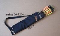 Free Shipping 12 Pcs 20 Carbon Crossbow Bolt W Nock 1 Piece Arrow Quiver Bag Archery