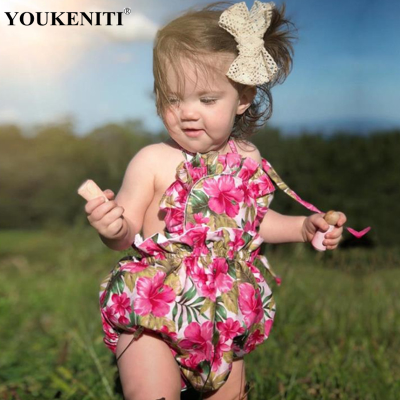 2018 Summer Promotion body for newborn print Cotton Soft Baby Clothings Bodysuit Kids One Piece Jumpers For Girls Free Shipping