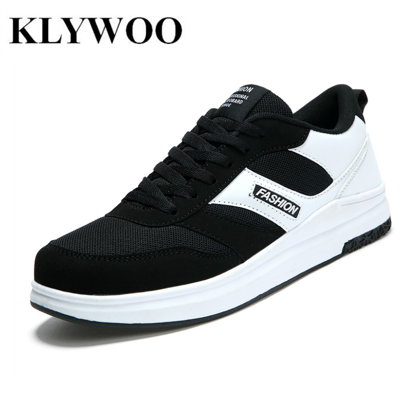 KLYWOO New Men Casual Shoes Spring Autumn Mens Shoes Breathable Brand Luxury Mesh Casual Shoes Men Fashion Zapatos Hombre mvp boy brand 2018 new summer mesh air mesh men breathable loafers black shoes spring lightweight fashion men casual shoes