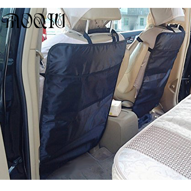 2016 Novo Estilo de Proteção Anti Chutando Acolchoado assento de carro da criança de volta proteção sujeira de Chinelo Interior Acessórios Frete Grátis