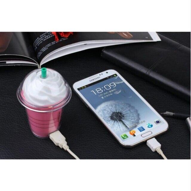 Luxury Starbuck Power Bank 5200mAh High Quality External Challenge Po mobile Powerbank portable battery