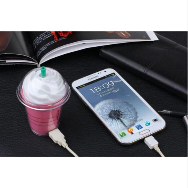 Starbuck Banco de la Energía 5200 mAh de Alta Calidad de lujo Po Desafío móvil Powerbank Externo portátil batería