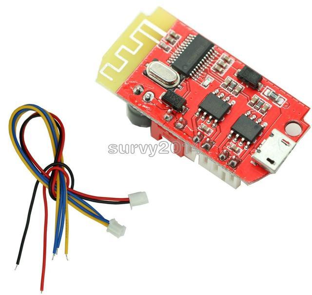 Placa de amplificador de Audio Digital, placa doble de Audio, Bluetooth, módulo de música de sonido, Micro USB DC 3,7 V 5V 3W