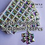 sewing rhinestones 10x10mm