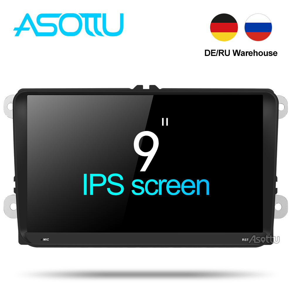 Hot!Android 8 inch vw Volkswagen Skoda Polo Jetta Tiguan Golf 5 6 Bora Touran Passat B6 B7 dvd gps with radio Capacitive screen Toyota Land Cruiser