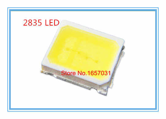 100 PCS 22-24 LM putih 2835 SMD LED 0.2 W tinggi terang chip led BARU Hot
