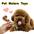 Funny Dog's Chew Toys Cotton Rope Pet Toy Puppy Dog Teeth Cleaning Training Tool For Dogs