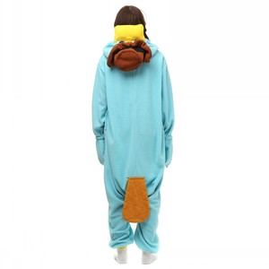 Image 5 - Unisex Perry the Platypus Costumes Onesies Monster Cosplay Pajamas Adult Pyjamas Animal Sleepwear Jumpsuit