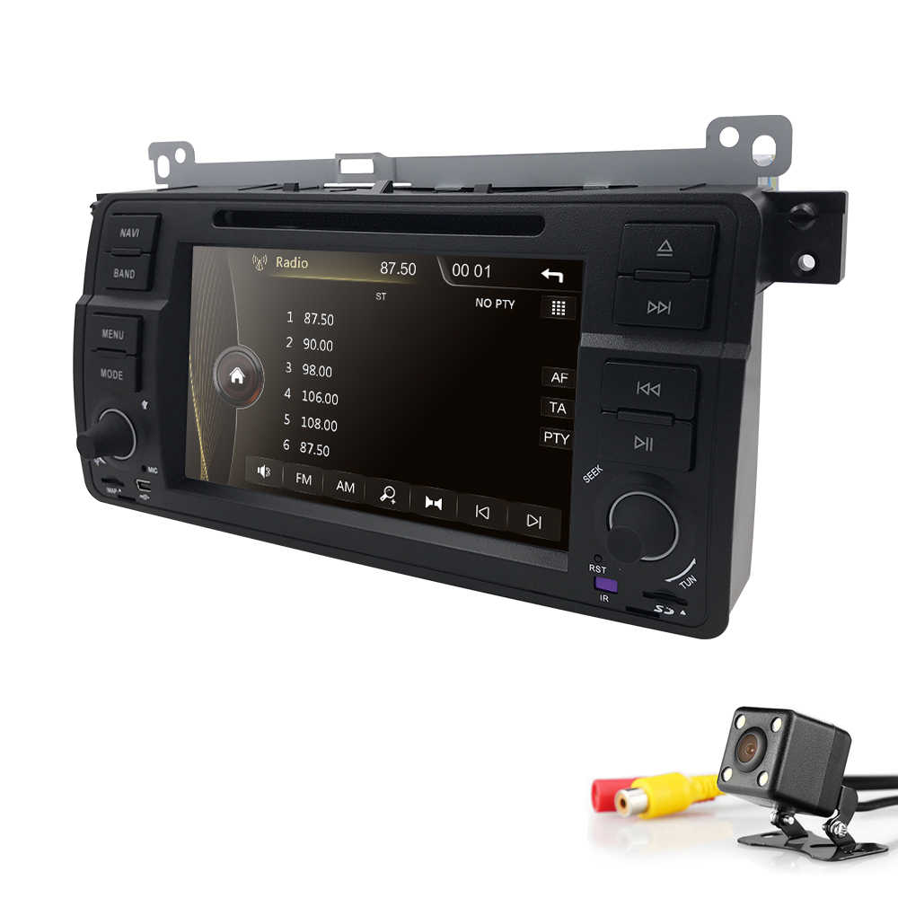 2din 7 ''Радио DVD Wince6.0 для BMW E46 M3 (1998-2006) с Bluetooth Phonelink BT 1080 P Ipod карта MirrorLink SWC AM/FM 3g CAM