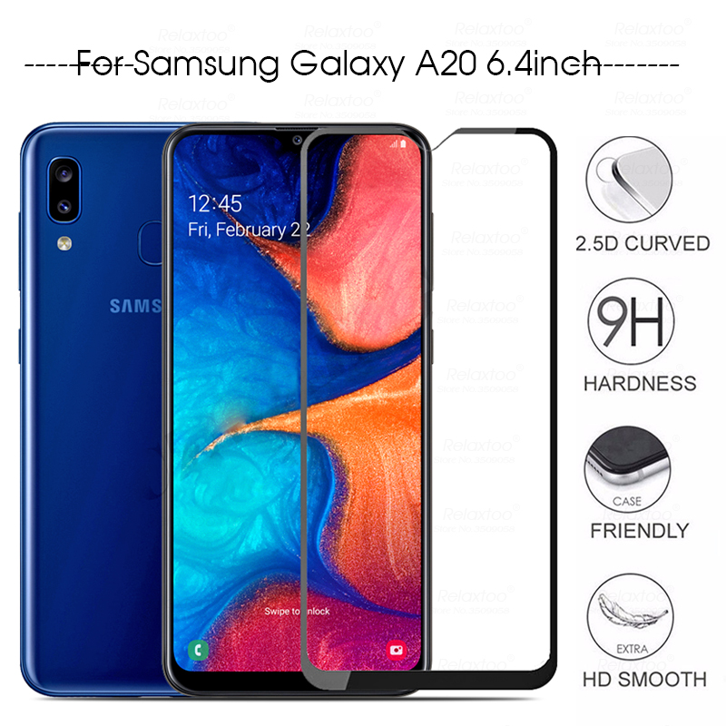 Protective Glass On The For Samsung Galaxy A20 SM-A205F/DS Screen Protector Glass For Samsung Galaxy A20e SM-A202F/DS Phone Film