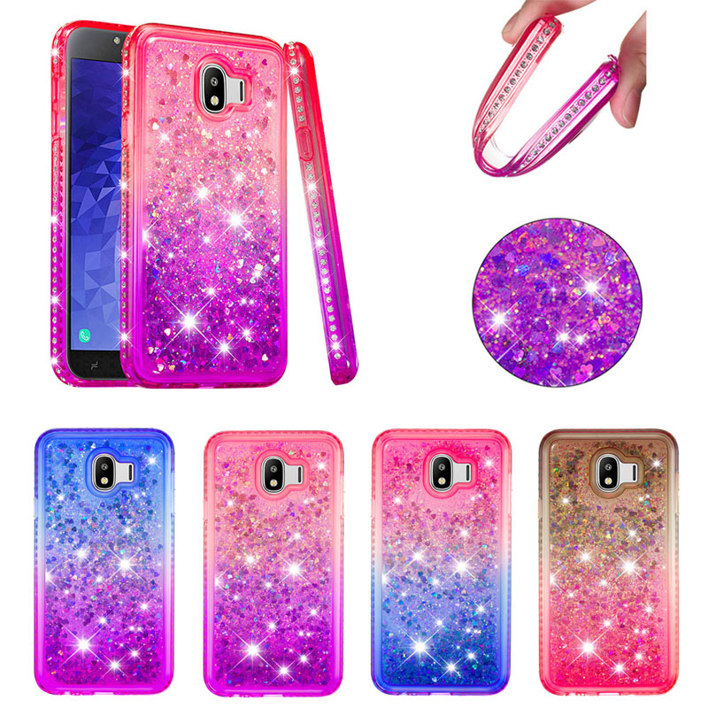 Flight Tracker Luxury Bling Diamond Quicksand Cases Soft Tpu Silicone Cover Hull Shell Skin Coque Fundas For Samsung Galaxy J4 J6 Plus 2018 Eu Promote The Production Of Body Fluid And Saliva Cellphones & Telecommunications