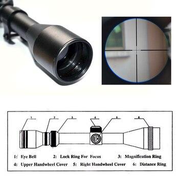 Télescope De Chasse 3-7x28 Zoom Portée De Fusil Télescopique à Air Lunette De Visée Optique Pour La Chasse Fit. 22 Fusils Ou Pistolets à Air HT6-0022