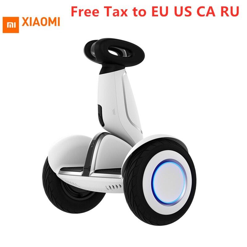 Original Xiaomi Mini Além Disso Smart Auto Balance Scooter Hoverboard 2 Inteligente Scooter Elétrico Roda Pairar Bordo Skate Com App