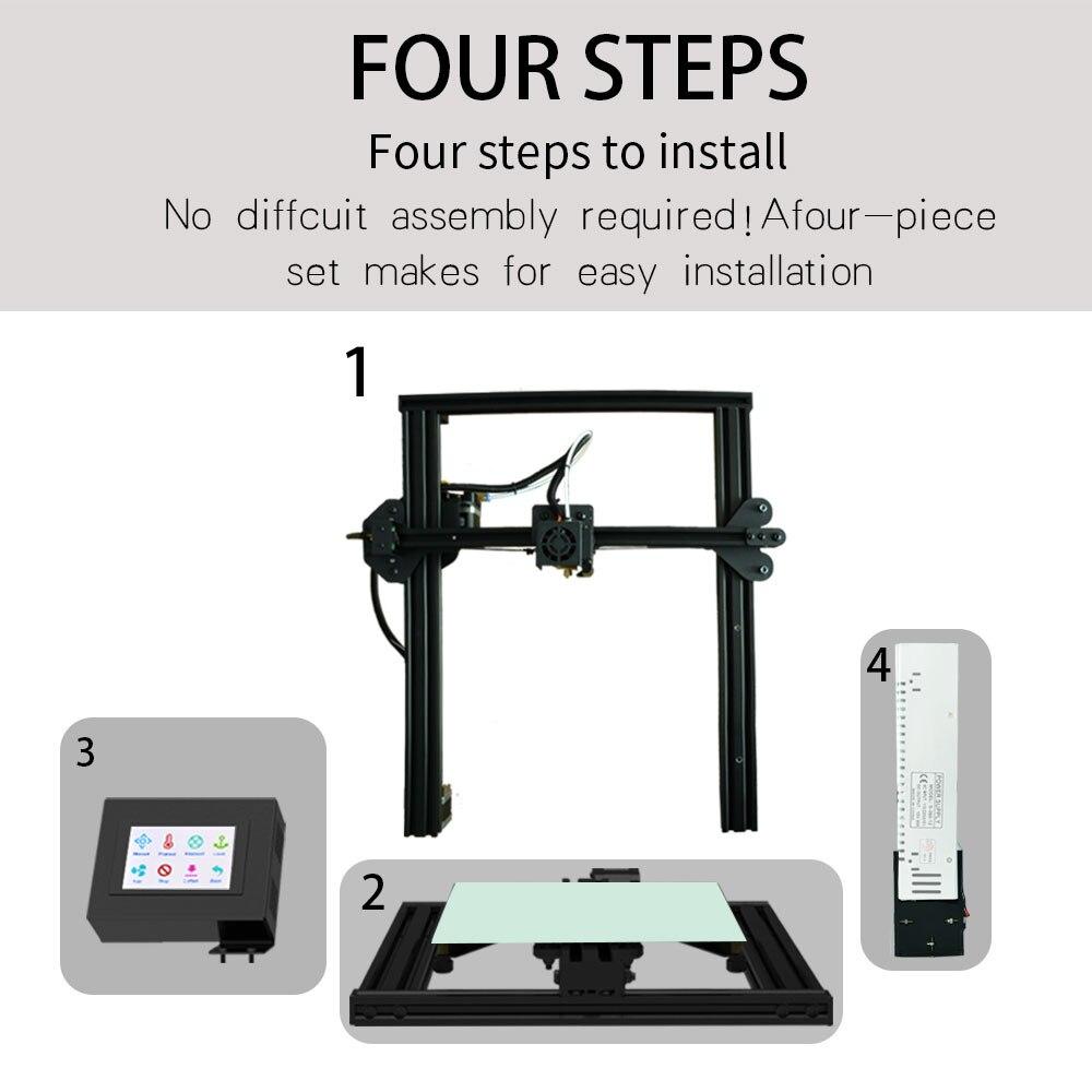 Tronxy Hot SELL High Precision printing large size 310*310*330 XY 3 3d printer PLA model machine
