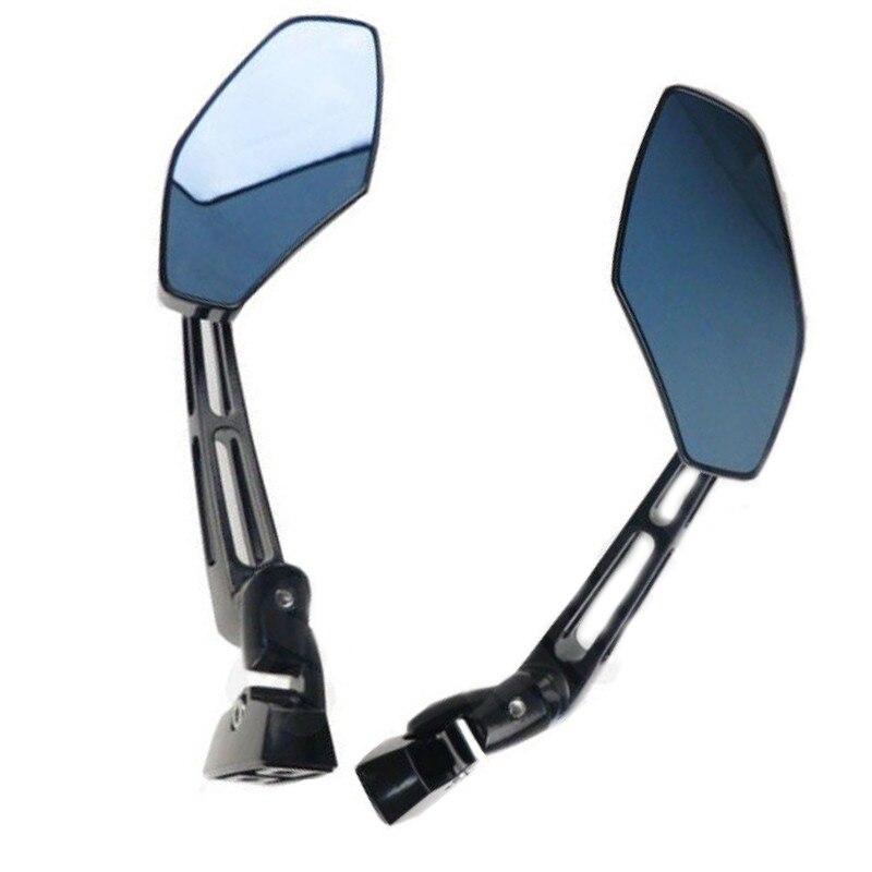CNC Black Rearview Side Mirrors For YAMAHA YZF 600 1000 R1 R6 S FZ6 FZ1 FZ6R