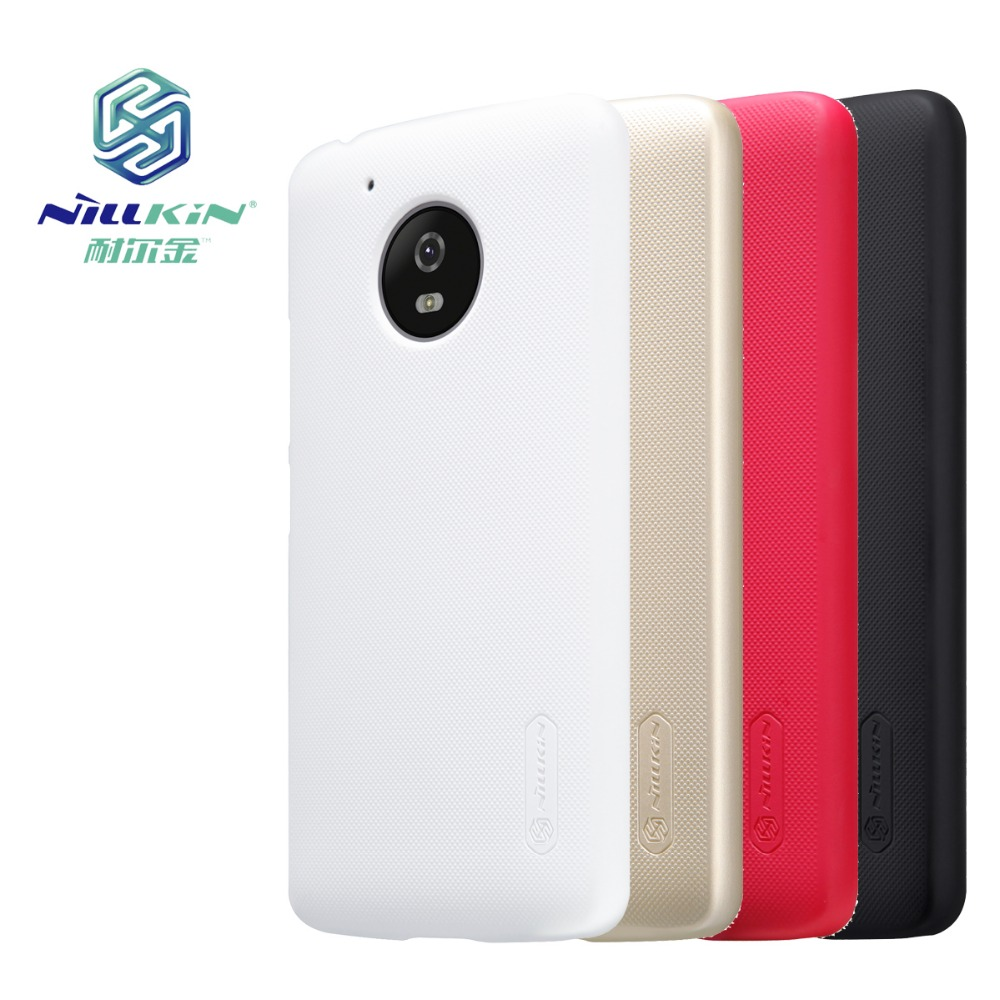 online retailer 5d492 f995f US $8.99 |Nillkin Frosted Shield Case For Motorola Moto G5 Bumper Hard  Phone Cases Coque Fundas Cover Capinha Hoop For Moto G5 Plus Capa on ...