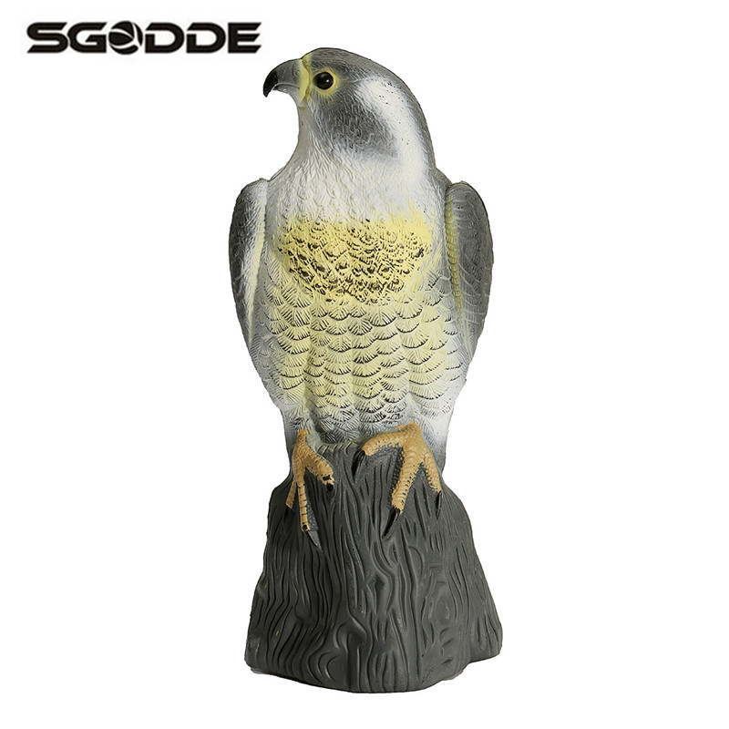 Al aire libre Sparrow Hawk águila para La Paloma Caza Tiro Decoy jardín planta scarer Control de plagas decoración Adornos regalos para Hunter