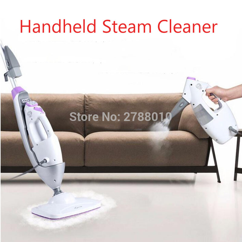 Handheld Steam Cleaner Steam Mop Cleaner Household Steaming Cleaner with 340ml Water Tank Capacity 7688M steam cleaner parts steam mop s3901 32x18cm