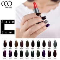 CCO Rainbow Nail Gel Polish Amber Serise Soak Off UV Long Lasting Gel Nail Polish Varnish