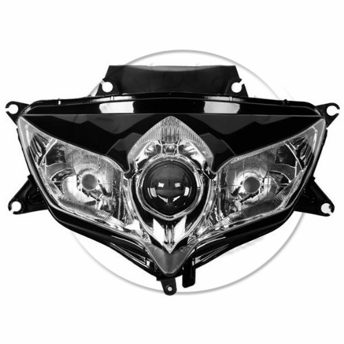 Motorcycle Front Headlight For SUZUKI GSXR 600 750 GSXR600 GSXR750 2008 2009 K8 Head Light Lamp Headlamp Moto Lighting faro motorcycle front headlight for suzuki gsxr 600 750 gsxr600 gsxr750 2004 2005 k4 head light lamp assembly headlamp lighting parts