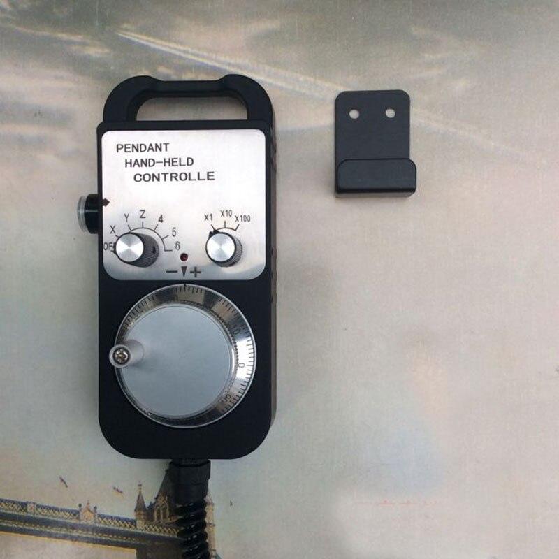 1 pcs Universal CNC Router Volante 4 Eixo MPG Pingente Volante botão De Parada de Emergência Siemens FAGOR GSK MITSUBISHI