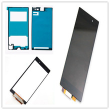 цена JIEYER Touch Screen Digitizer Sensor Glass + LCD Display Monitor Panel Assembly for Sony Xperia Z1 L39h C6902 C6903 C6906 C6943