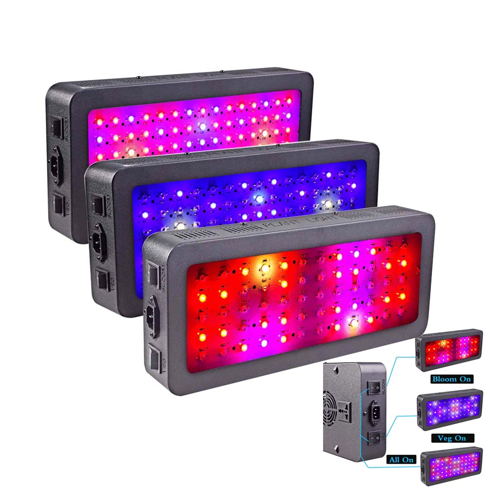 LED Grow Light 600W 900W 1200W Full Spectrum For Indoor Greenhouse Seedlight Grow Tent Plants Grow Led Lamp Veg Bloom Mode