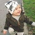 Chapéu do bebê 2017 da marca primavera cap crianças chapéus padrão animal cap bebê chapéu de malha suave baby boy moda newborn fotografia adereços