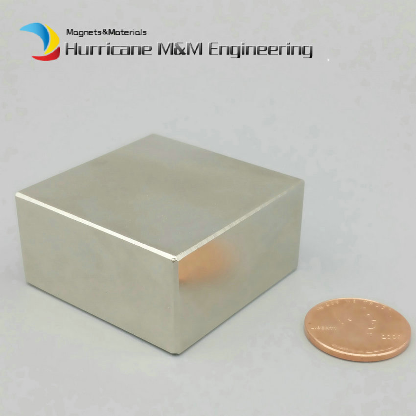 NdFeB Magnet Block 40x40x20 +/-0.1mm mm Strong magnet Neodymium Permanent Magnets Rare Earth Magnets Grade N42 NiCuNi Plated ndfeb magnet ring 1 1 2 odx1 8 idx1 2 thick strong neodymium permanent magnets rare earth magnets grade n42 nicuni plated