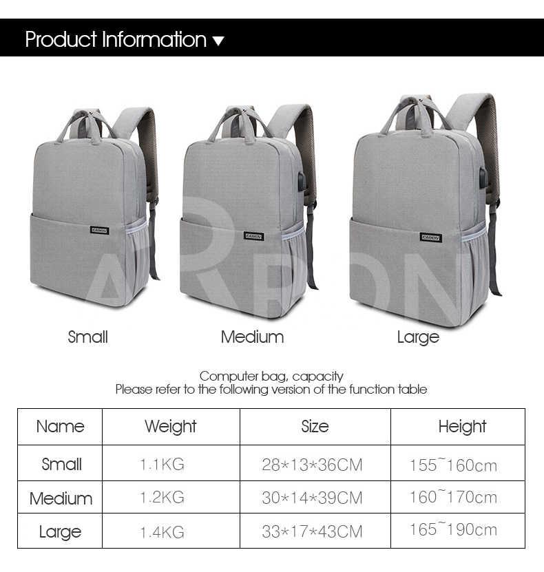 e4e3e01f22 ... CADeN Three sizes Camera Bag Digital Camera Videos Waterproof Laptop  School Casual Photo Bag for Canon ...