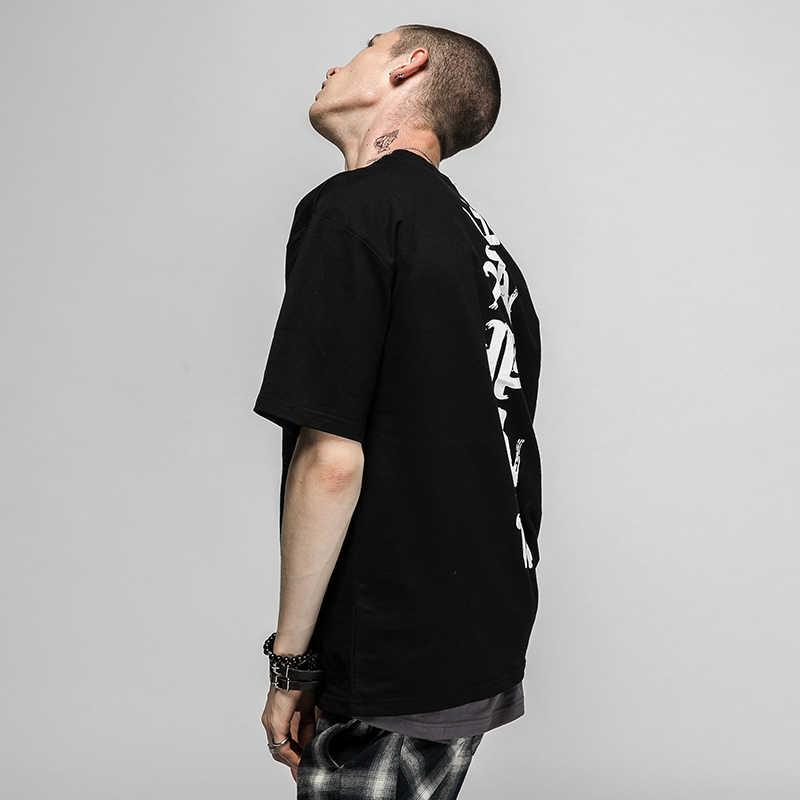 Aelfric Eden Hiphop T-shirt Mannen Vrouwen Tees Fashion Kanji Print Zomer T-Shirt 2017 Tees Shirts Man Casual TopsTees m-3XL SNL425