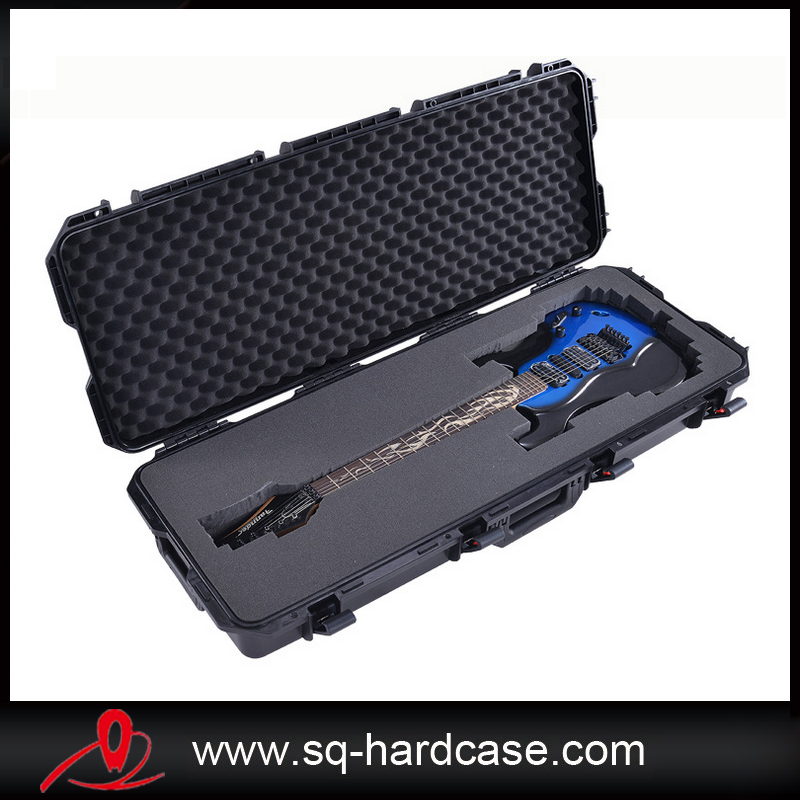 Long Size Large Space Waterproof Shockproof Hard Plastic Instrument Equipment Case