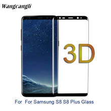 3D Arc Tempered Glass For Samsung Galaxy S8 S8 Plus Screen Protector For Samsung S8 Plus Full cover screen Protective Glass 9H цены онлайн