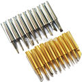 20 pcs /lot Lead-free solder Iron tip 900M-T for hakko 936 saike 909 aoyue Lukey 636 852D soldering rework station Free shipping