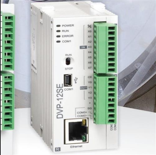 Original Full New SE series PLC programmable controller DVP12SE11R 8DI 4DO 3 COM Mini USB/RS485x2/Ethernet Relay output