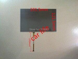 Atacado 4 10 pcs 191*121 192*122mm pin 8 polegada Lente Digitador Da tela de toque de vidro preto painel para car DVD player GPS de navegação