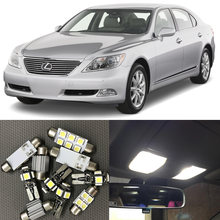 Белые автомобисветодиодный светильник ные лампы 15 шт комплект