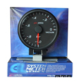 High Quality Apex* Black Shell White Light 2.5 inch Car LED Bar Turbo Boost Vacuum Gauge Meter 60cm