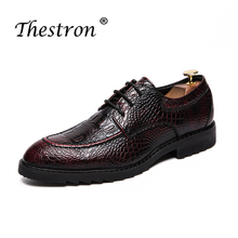 2018 Patent Leather Mens Dress Shoes Wine Red Comfortable Men Social Shoes Formal Sneakers Spring Autumn Business Shoes Men