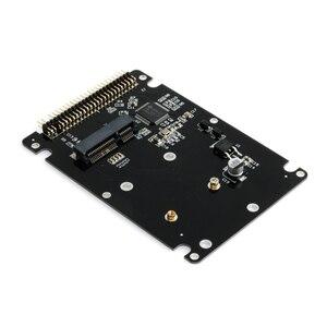 """Image 2 - 44PIN mSATA à 2.5 """"IDE HDD SSD mSATA à PATA adaptateur carte de convertisseur avec étui 10*7*0.9cm"""