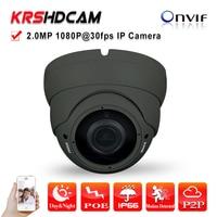 2MP IP Camera Full HD 1080P POE Onvif2 4 P2P SONY IMX322 Sensor Ambarella Indoor Dome
