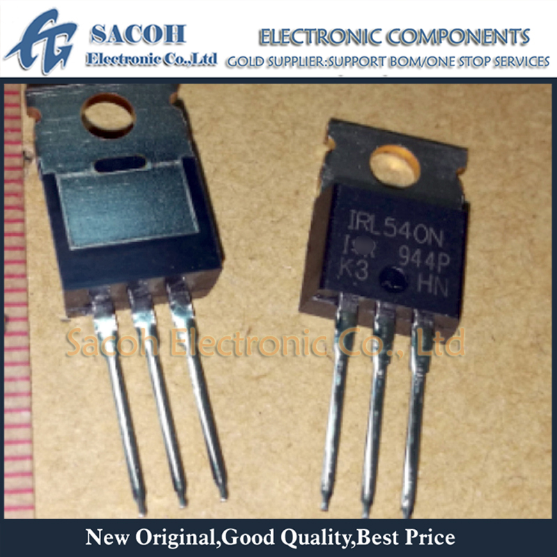 10PCS IRF540N IRF540 TO-220 N-Channel 33A 100V Power Mosfet A SE