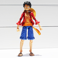 One Piece Monkey D Luffy PVC Action Figure Collectible Model Toy MegaHouse Variable Action Heroes